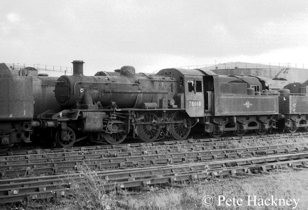 78018 in Woodham's scrapyard - October 1968.jpg