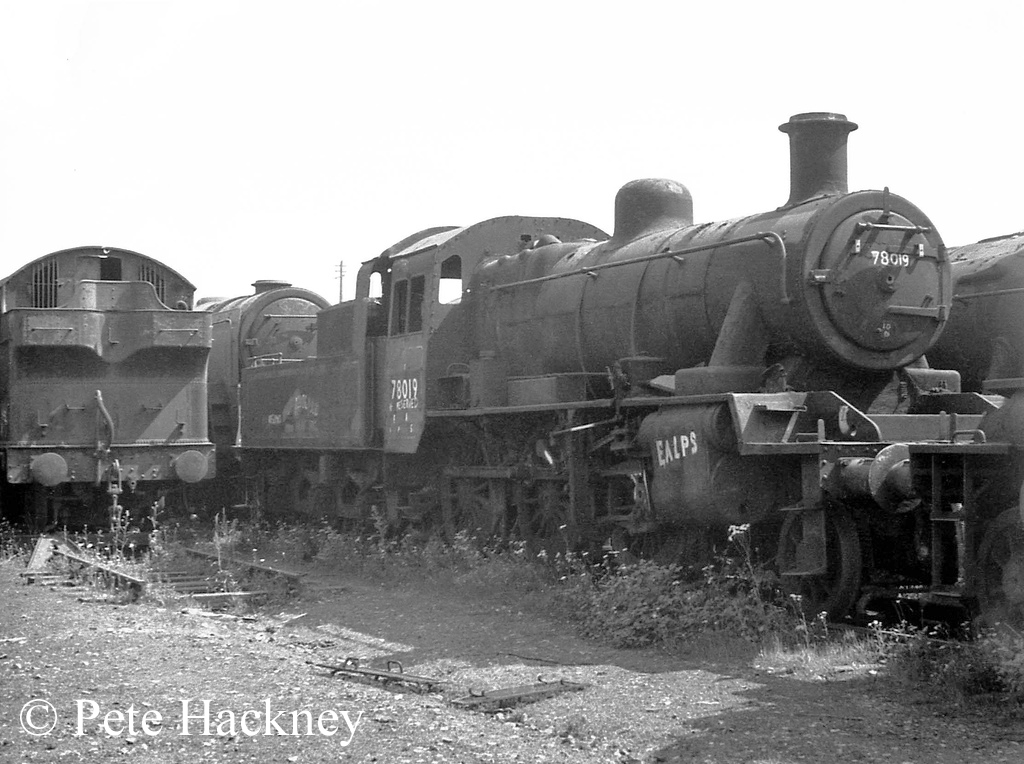 78019 in Woodham's scrapyard at Barry - July 1970.jpg