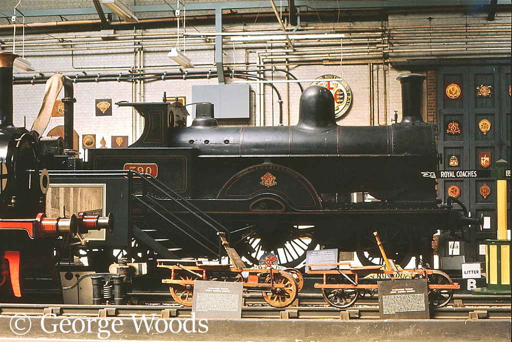 790 Hardwicke in the British Transport Museum at Cl;apham - 1972.jpg