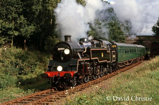 80064 near Freshfield Halt on the Bluebell Railway - August 1985  a.jpg