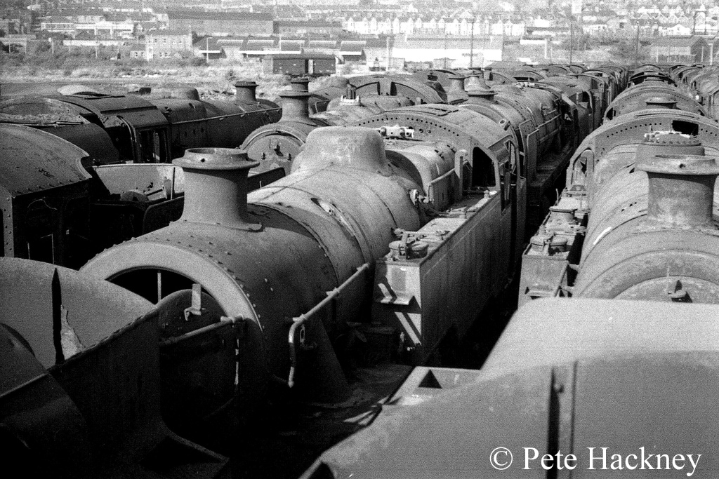 80104 in woodham's scrapyard at Barry along with many others - October 1968.jpg