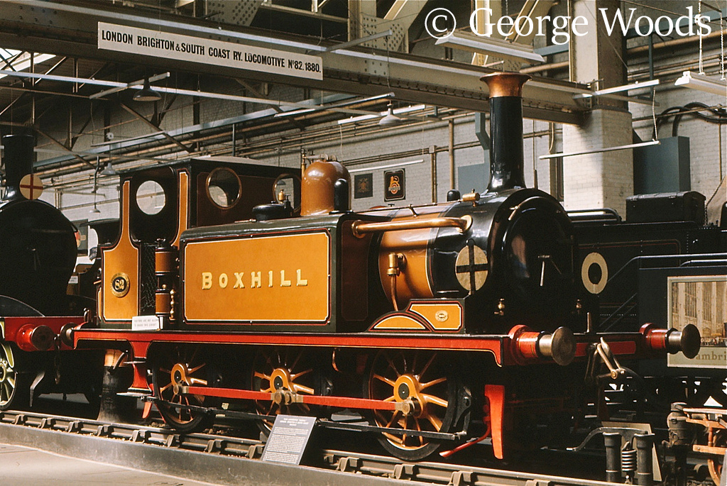 82 Boxhill in the British Transport Museum at Clapham - 1972.jpg
