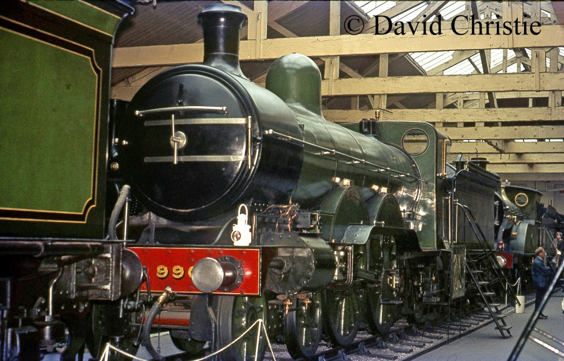 990 Henry Oakley in the British Transport Museum at York - July 1972
