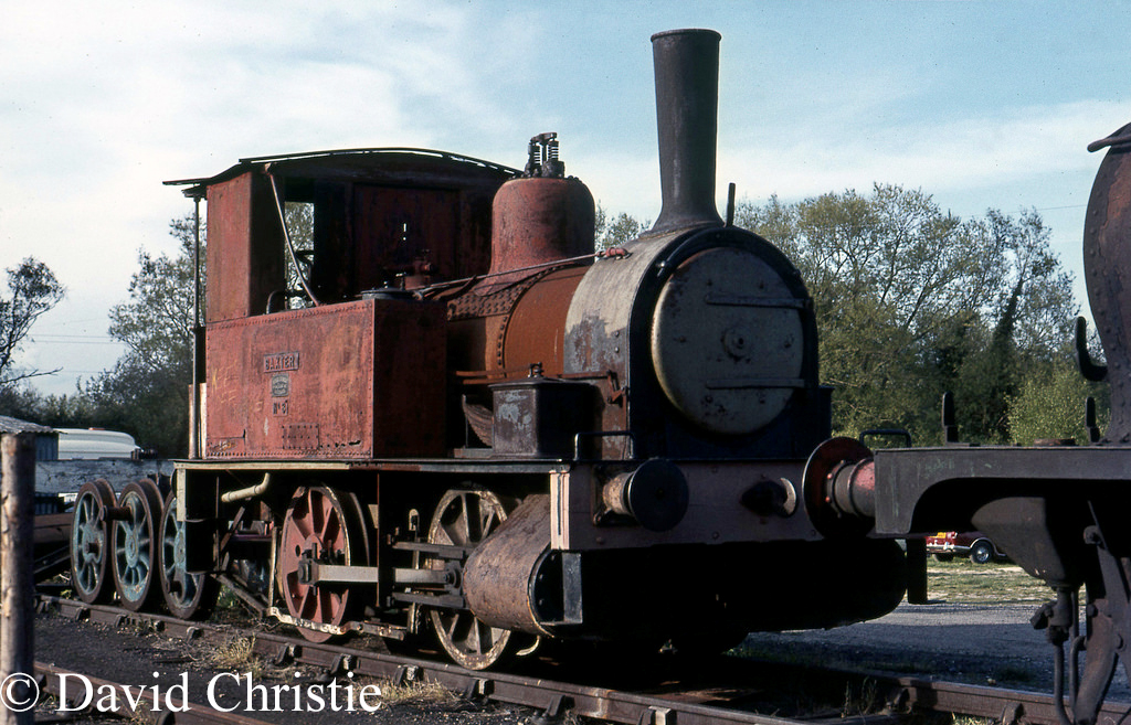 Baxter at Sheffield Park on the Bluebell Railway - May 1972.jpg