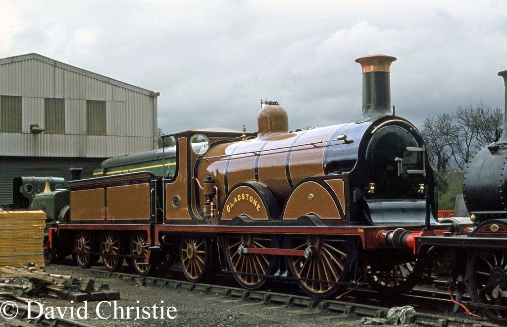 Gladstone at Sheffield Park on the Bluebell Railway - May 1982.jpg