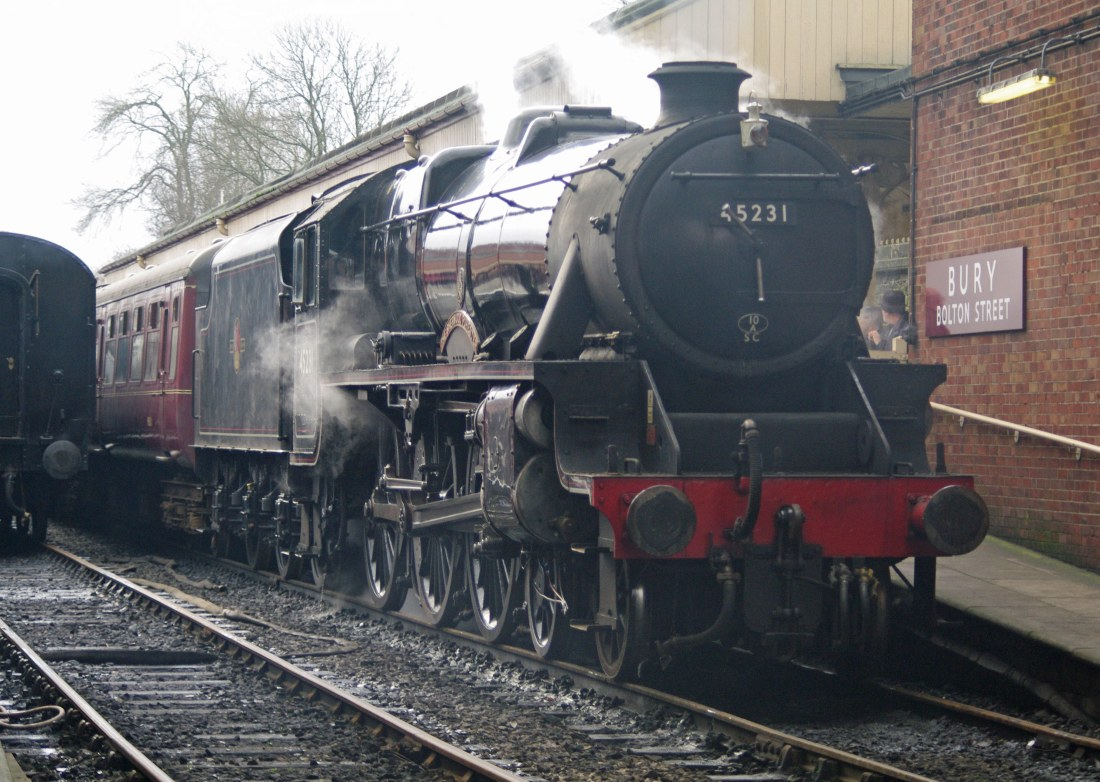 28667-East Lancs Railway-Bury-2012-45231 The Sherwood Forester.JPG