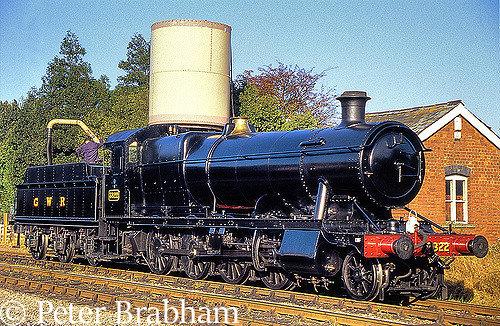 This image has an empty alt attribute; its file name is 3822-at-toddington-on-the-gloucester-warwickshire-railway-february-2009.jpg