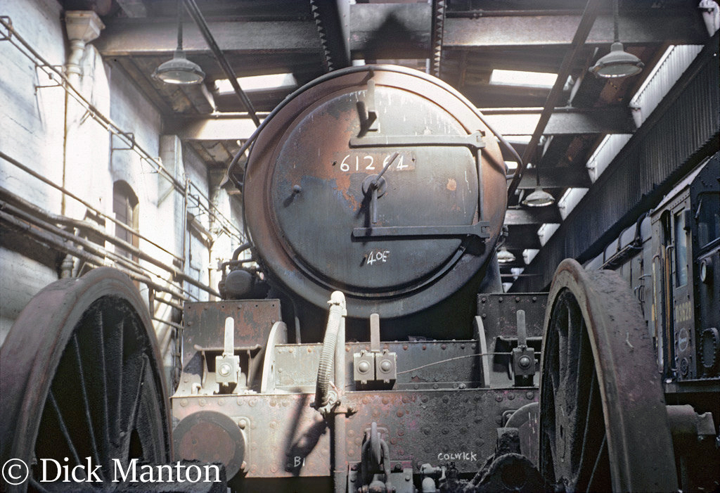 61264 at Colwick shed where it had been used as a stationary boiler - January 1967.jpg