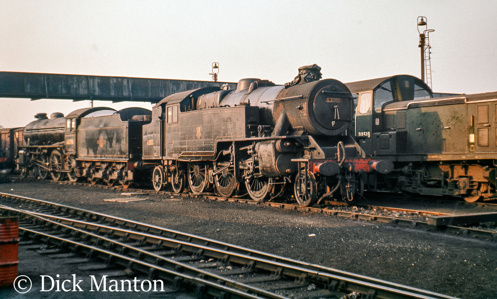 61306 & 42085 at carnforth - summer 1968