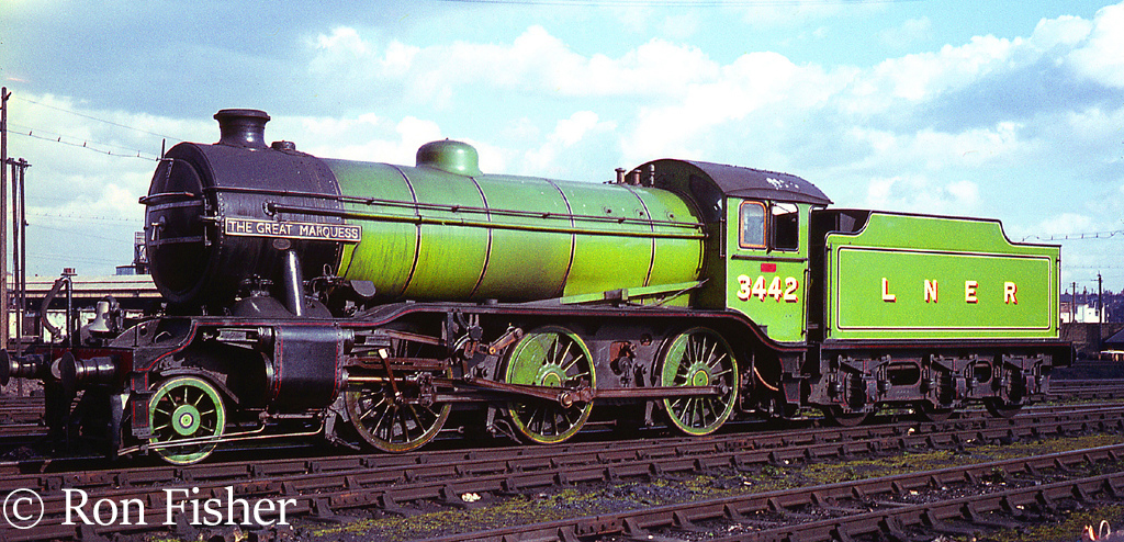 61994 The Great Marquess at Nine Elms before hauling a rail tour - March 1967.jpg