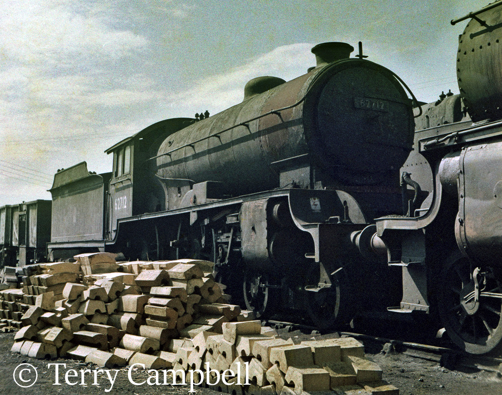 62712 Morayshire at Dalry Road shed in Edinburgh - July 1963.jpg