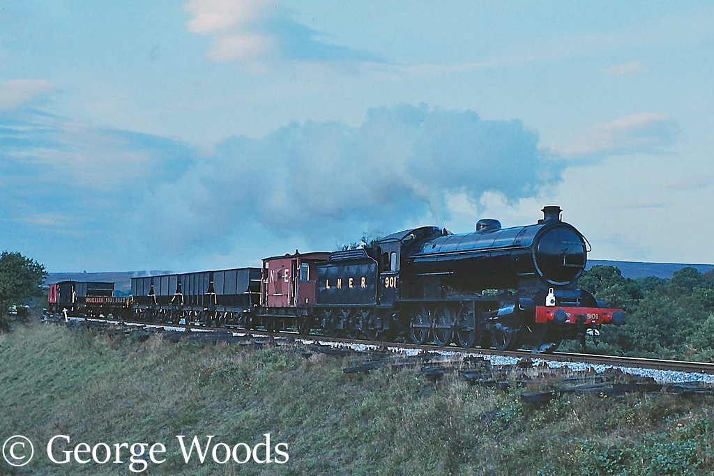 63460 on the North Yorkshire Moors Railway - October 1991.jpg