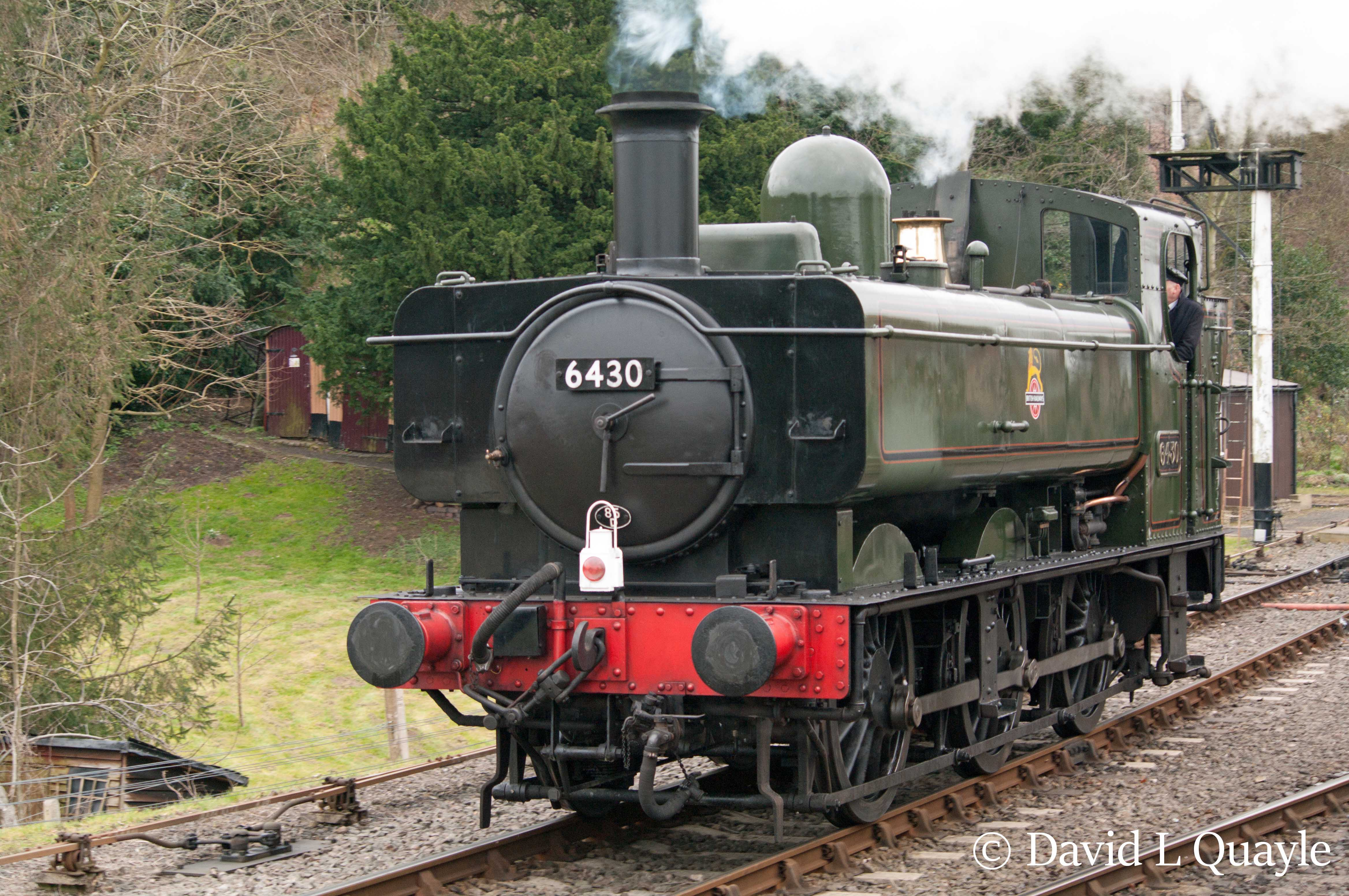 This image has an empty alt attribute; its file name is 6430-at-bewdley-on-the-severn-valley-railway-march-2016.jpg