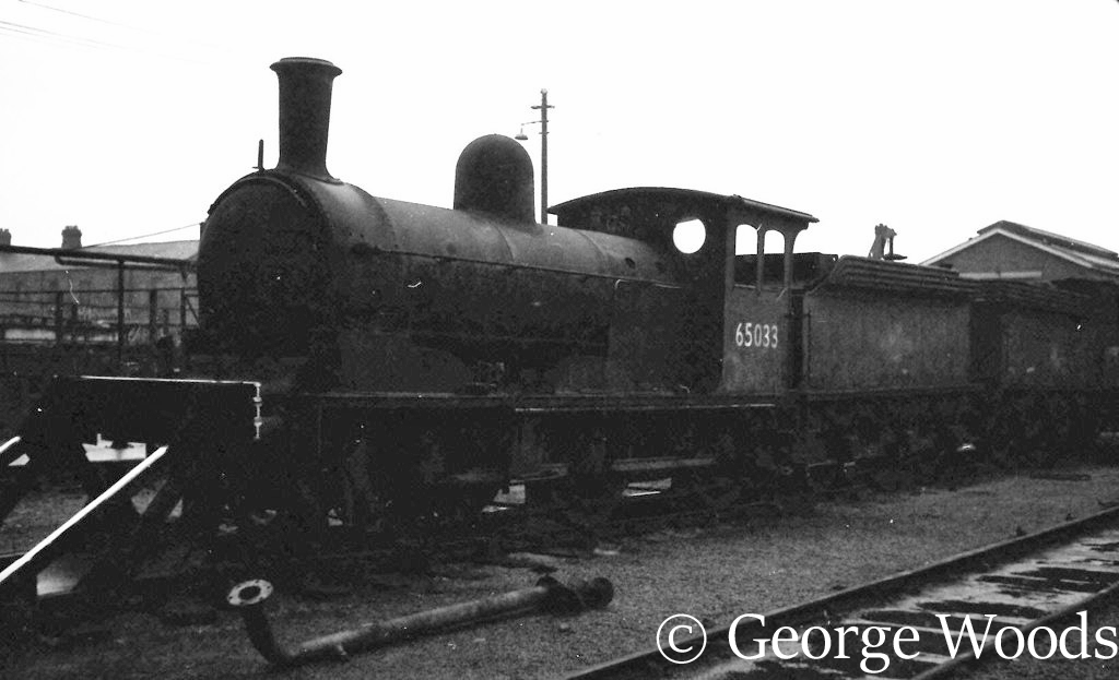 65033 at Darlington Works - November 1965
