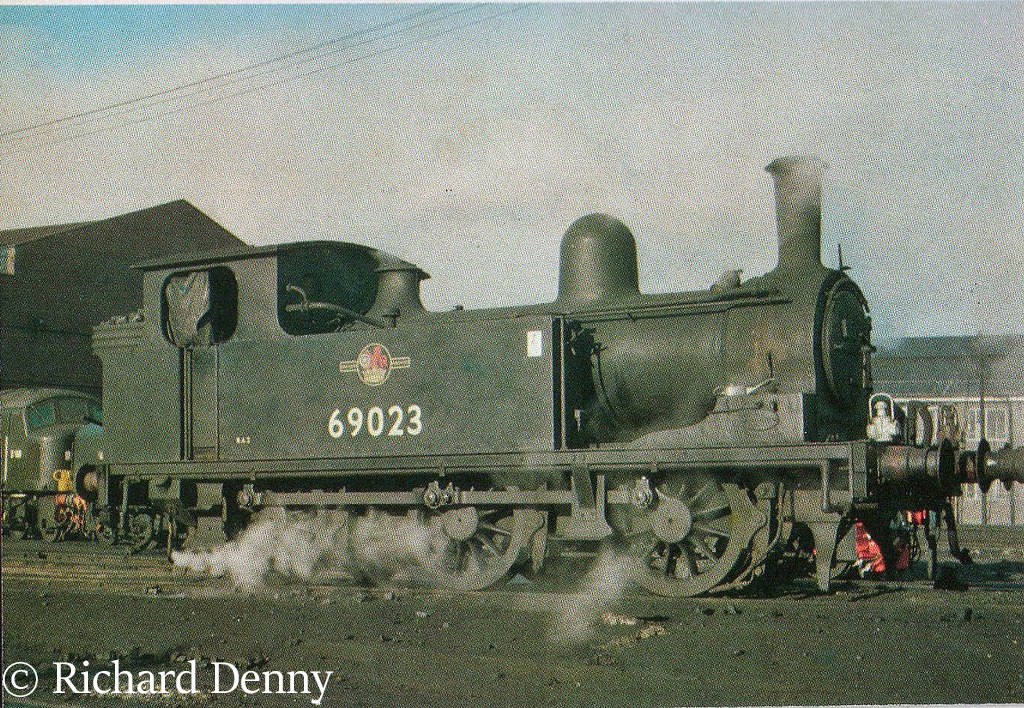 69023 at Darlington Works - 1962.jpg