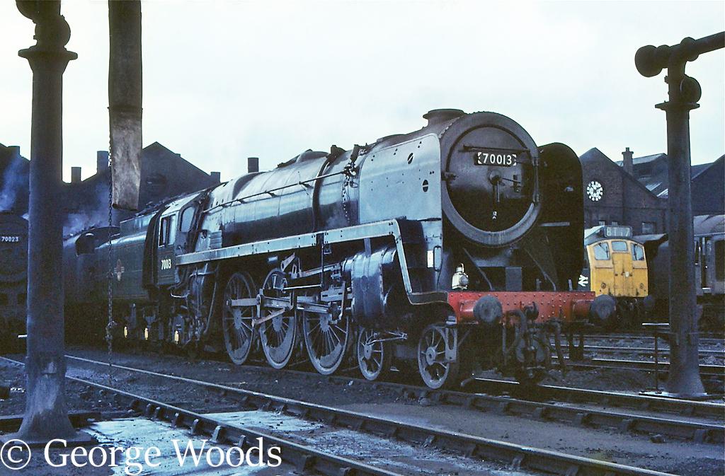 70013 Oliver Cromwell on Carlisle Kingmoor shed - July 1967.jpg