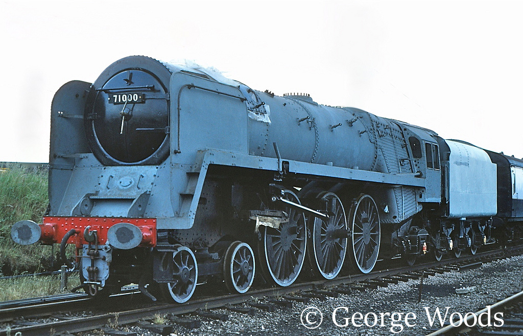 71000 Duke of Gloucester at the Great Central Railway - June 1982.jpg