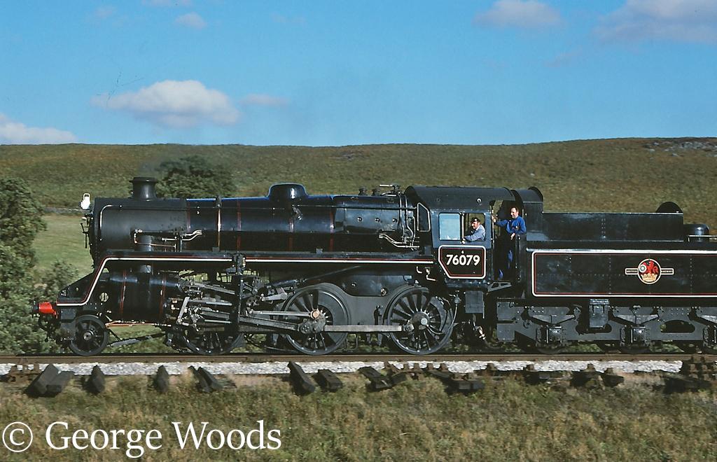 76079 on the North Yorkshire Moors Railway - October 1991.jpg