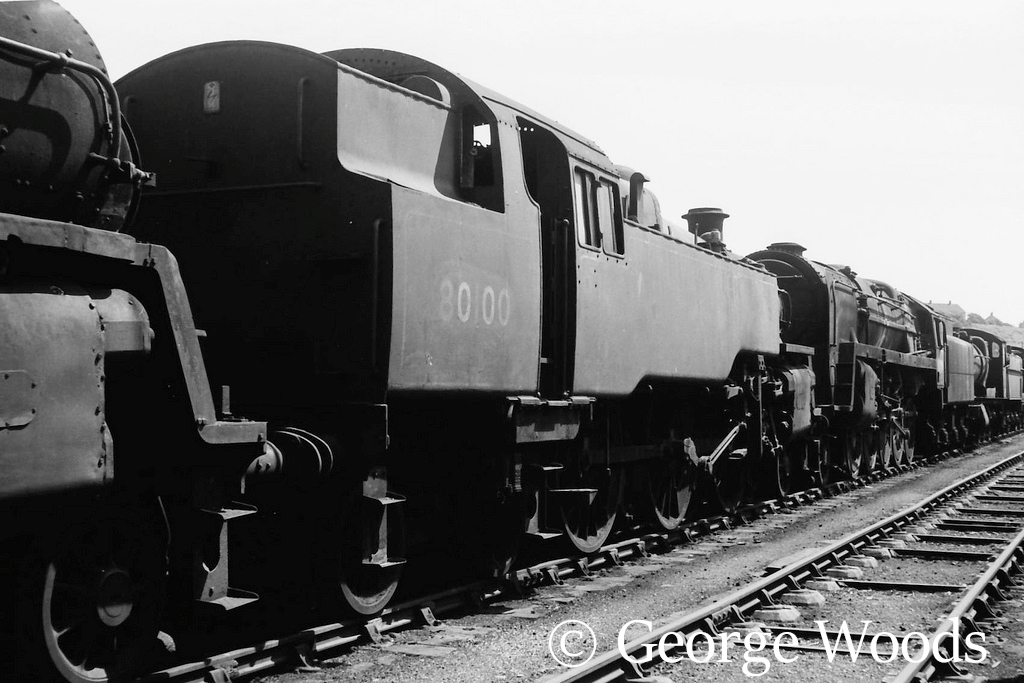 80100 in Woodham's scrapyard at Barry - May 1966.jpg