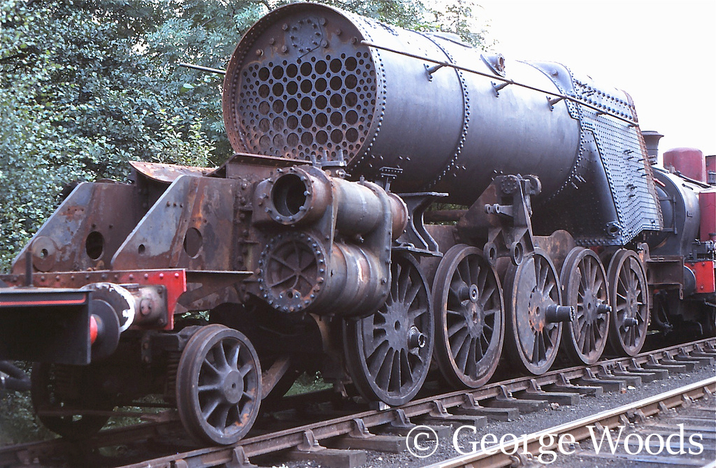 92134 at Grosmont on the North Yorkshire Moors Railway - October 1982.jpg