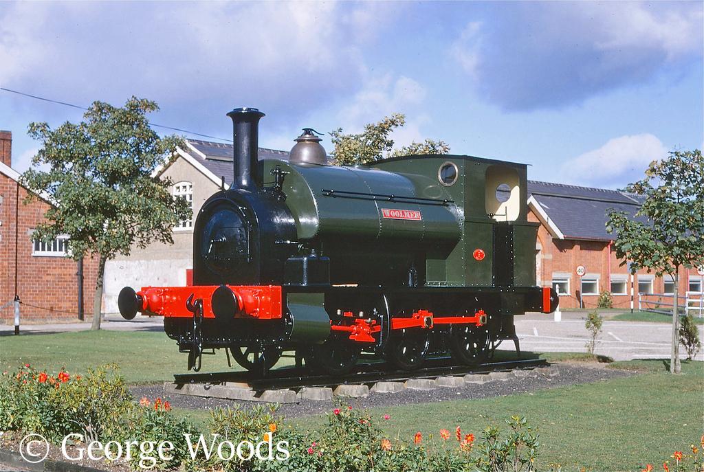 Avonside 1572 as WD74 Woolmer on display at Longmoor - September 1968.jpg