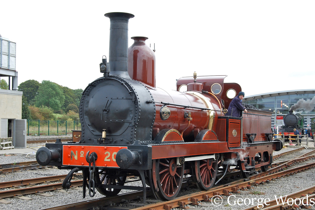 Furness Railway 20 at Locomotion, shildon - September 2010.jpg