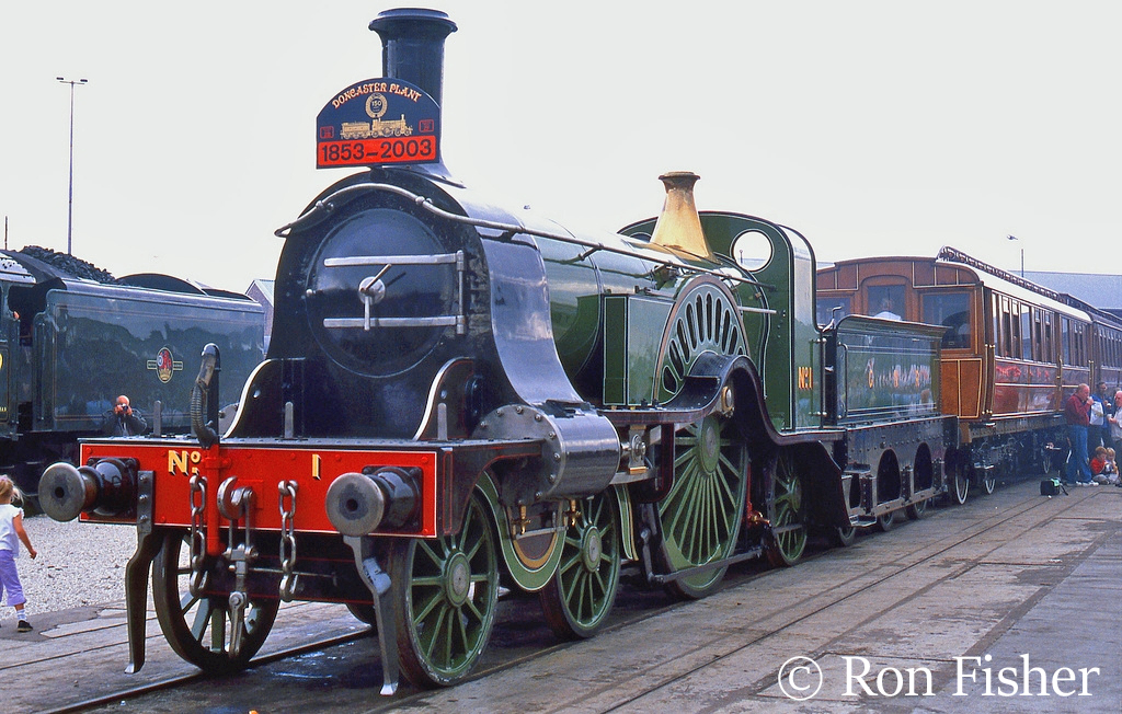 GNR 1 at Doncaster Works Open Weekend - July 2003.jpg