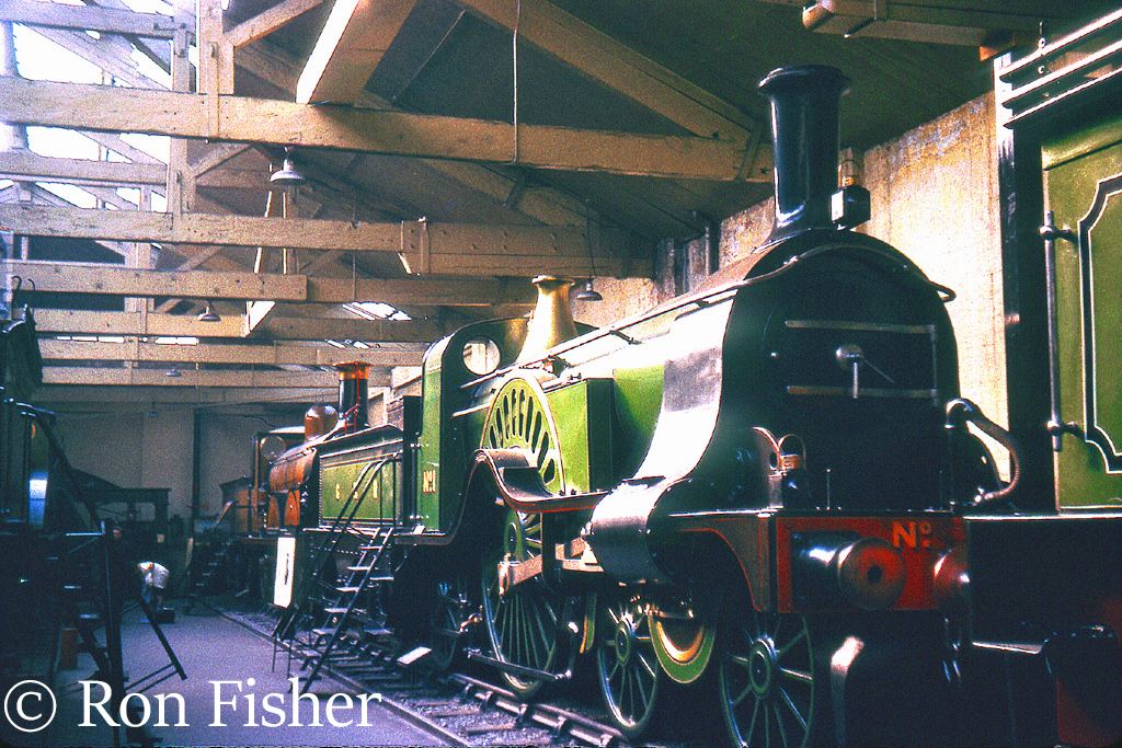 GNR 1 in the British Transport Museum at York - October 1964.jpg