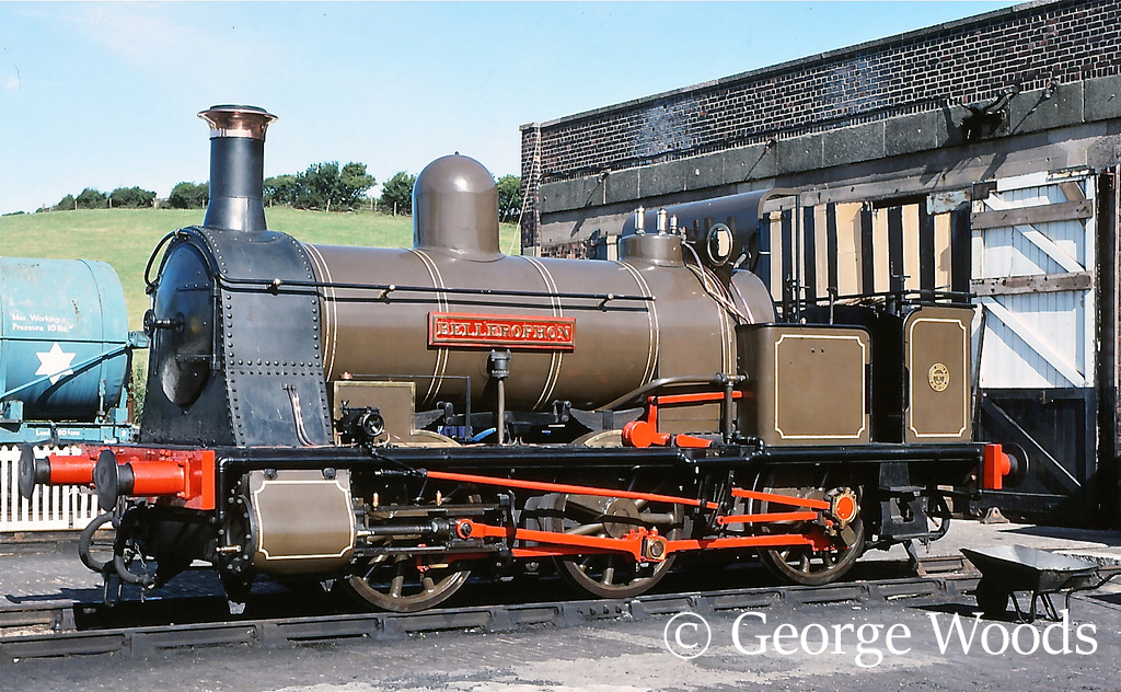 Haydock Foundry Bellerophon at Steamtown, Carnforth - July 1989.jpg