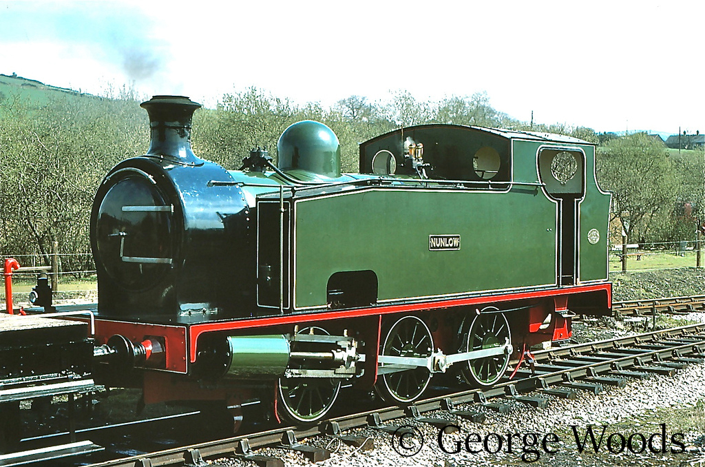 Hudswell Clarke 1704 at the Dinting Railway Centre - April 1977  .jpg