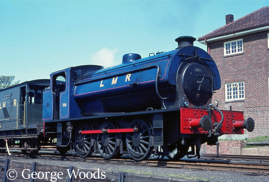 Hunslet 3796 as WD196 at Logmoor - April 1966.jpg