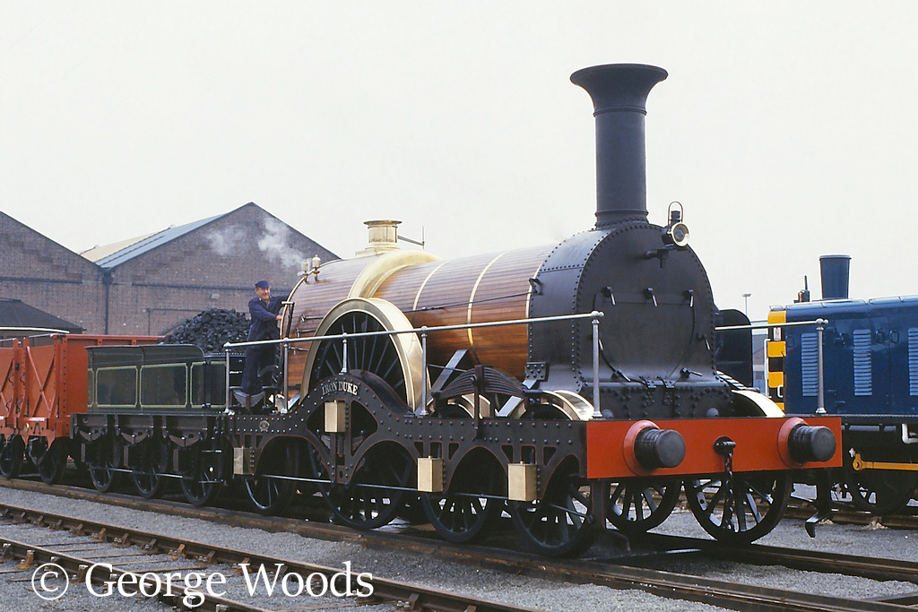 Iron Duke at the NRM York - October 1985.jpg