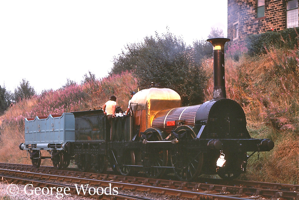 Lion at Keighley on the KWVR - October 1981.jpg