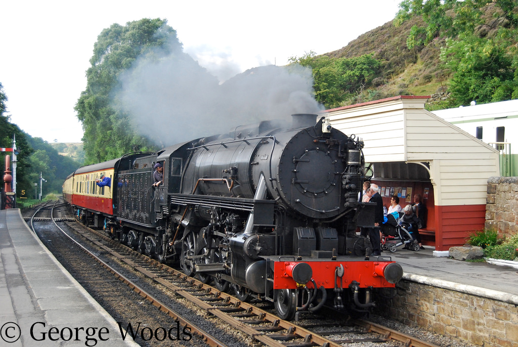 USATC 6046 at Goathland on the North Yorkshire Moors Railway - August 2013.jpg