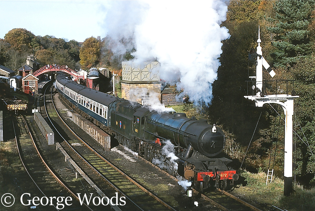 WD73672 at Goathland on the North Yorkshire Moors Railway - April 1993.jpg