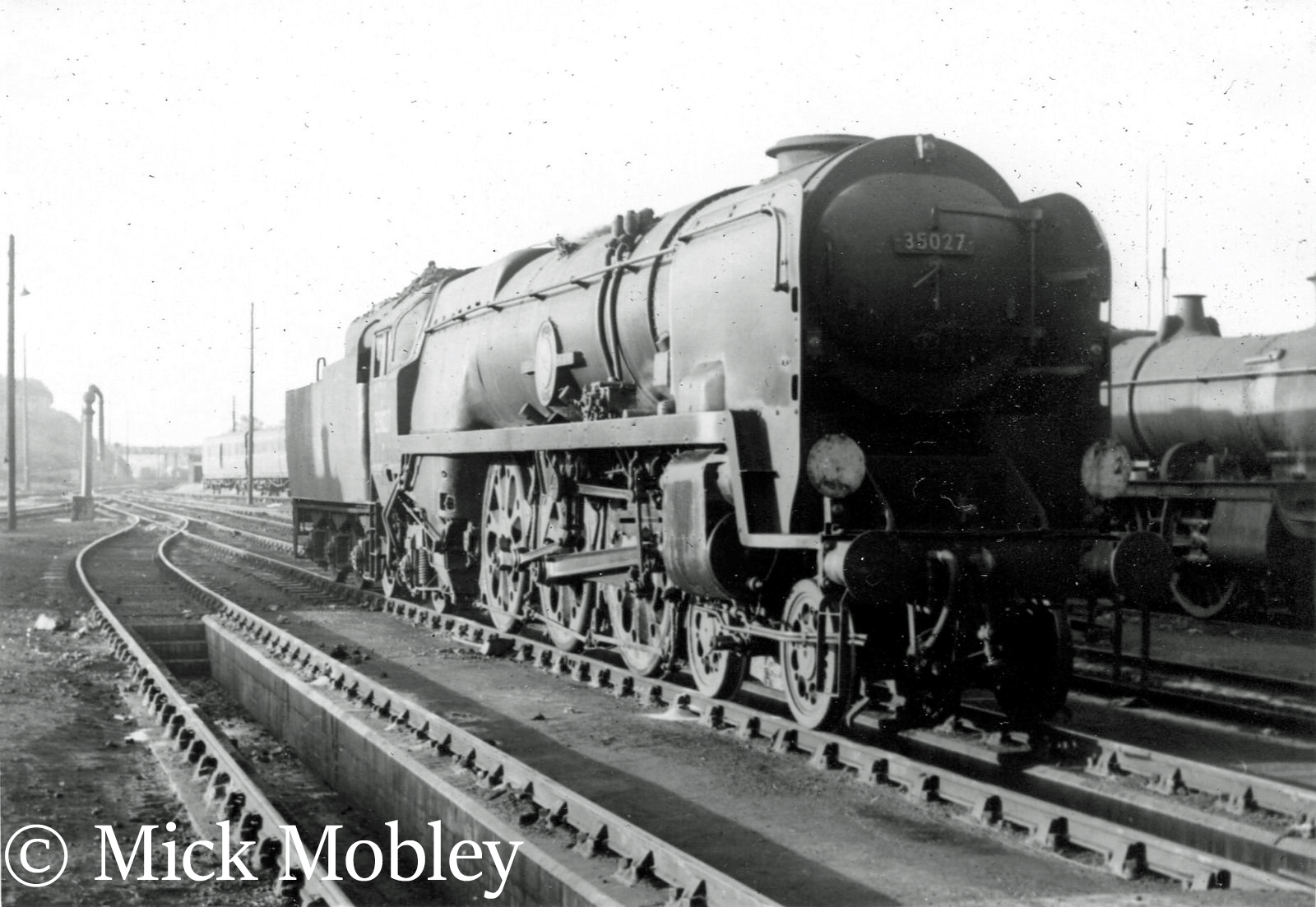 This image has an empty alt attribute; its file name is 35027-port-line-on-weymouth-shed-september-1960.jpg