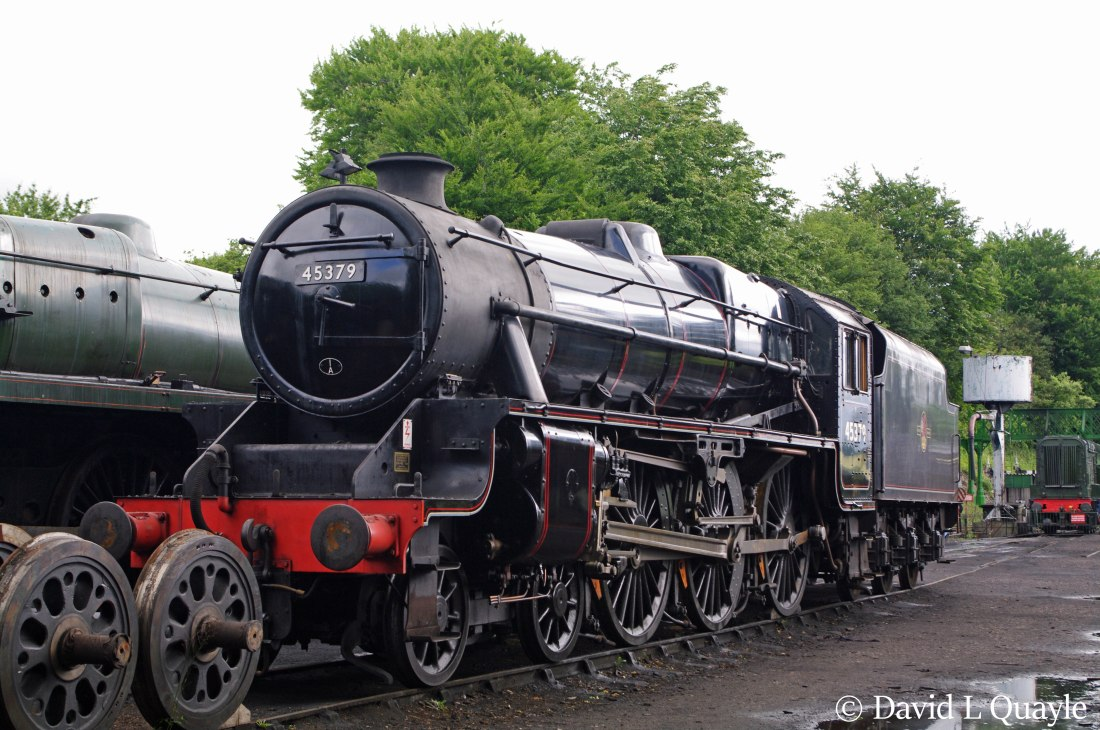 This image has an empty alt attribute; its file name is 45379-at-ropley-on-the-mid-hants-railway-june-2012.jpg
