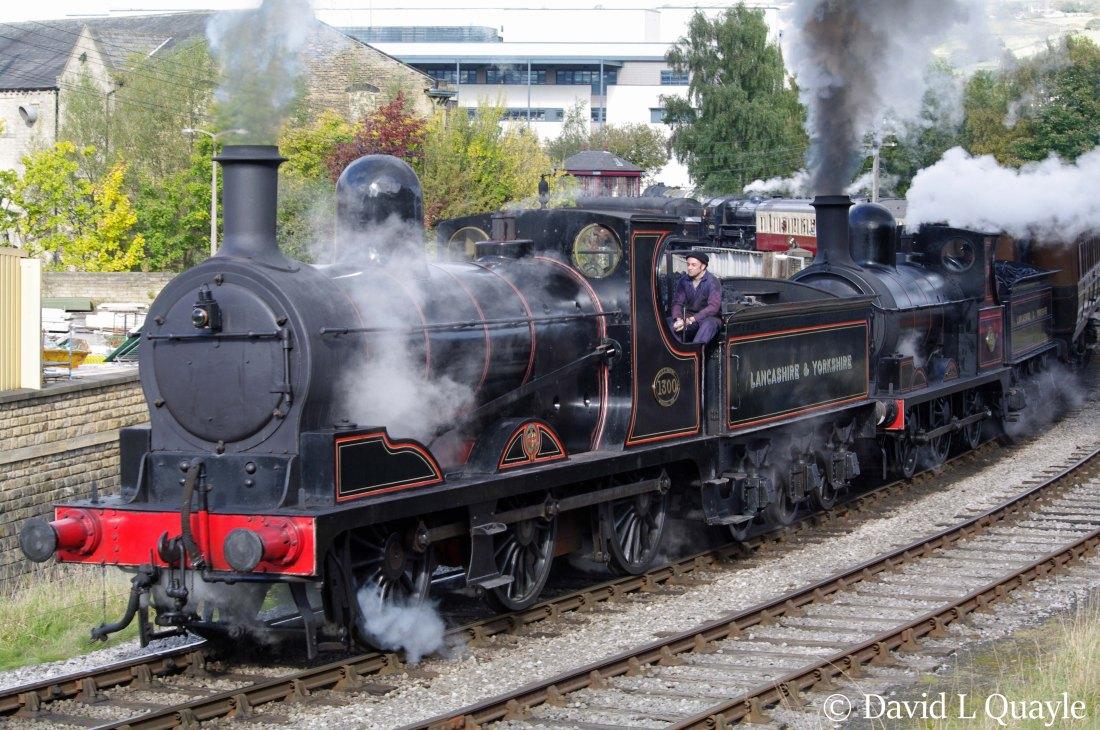 52322 (L&YR 1300, LMS 12322 & BR 52322) – Preserved British Steam