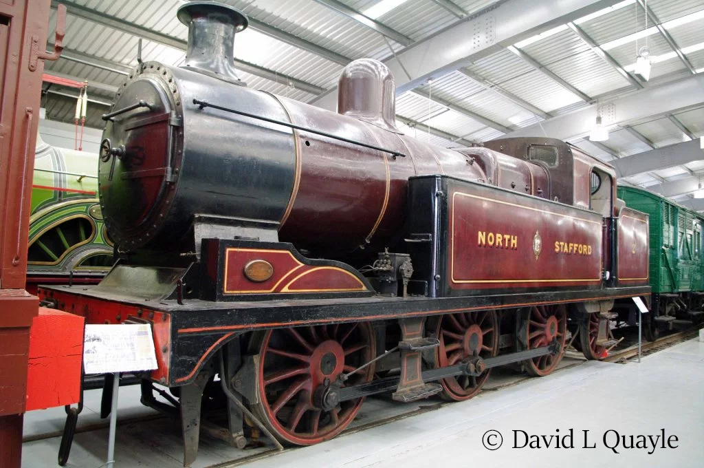 2 0-6-2T North Staffordshire Railway L Class – Preserved British ...