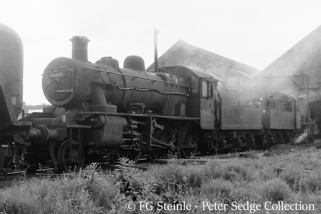 This image has an empty alt attribute; its file name is 46428-on-tyseley-shed-june-1965.jpg