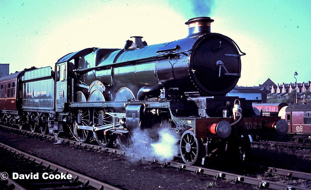 This image has an empty alt attribute; its file name is 7029-clun-castle-at-tyseley-1970.jpg
