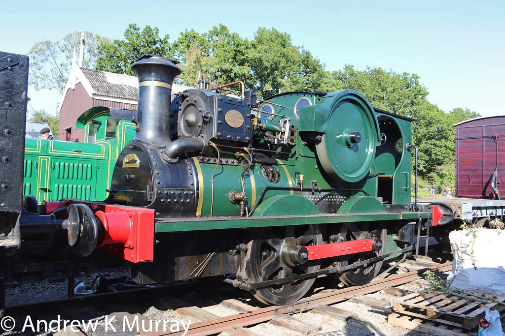 This image has an empty alt attribute; its file name is aveling-porter-6158-at-the-yaxham-light-railway-september-2019.jpg