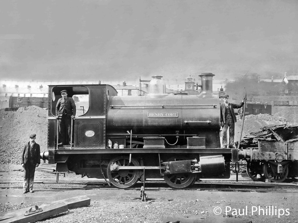 This image has an empty alt attribute; its file name is peckett-works-no-933-henry-cort.-early-photograph-by-eastment-son-of-tredegar-ebbw-vale-retouched-for-the-website-paul-phillips.jpg