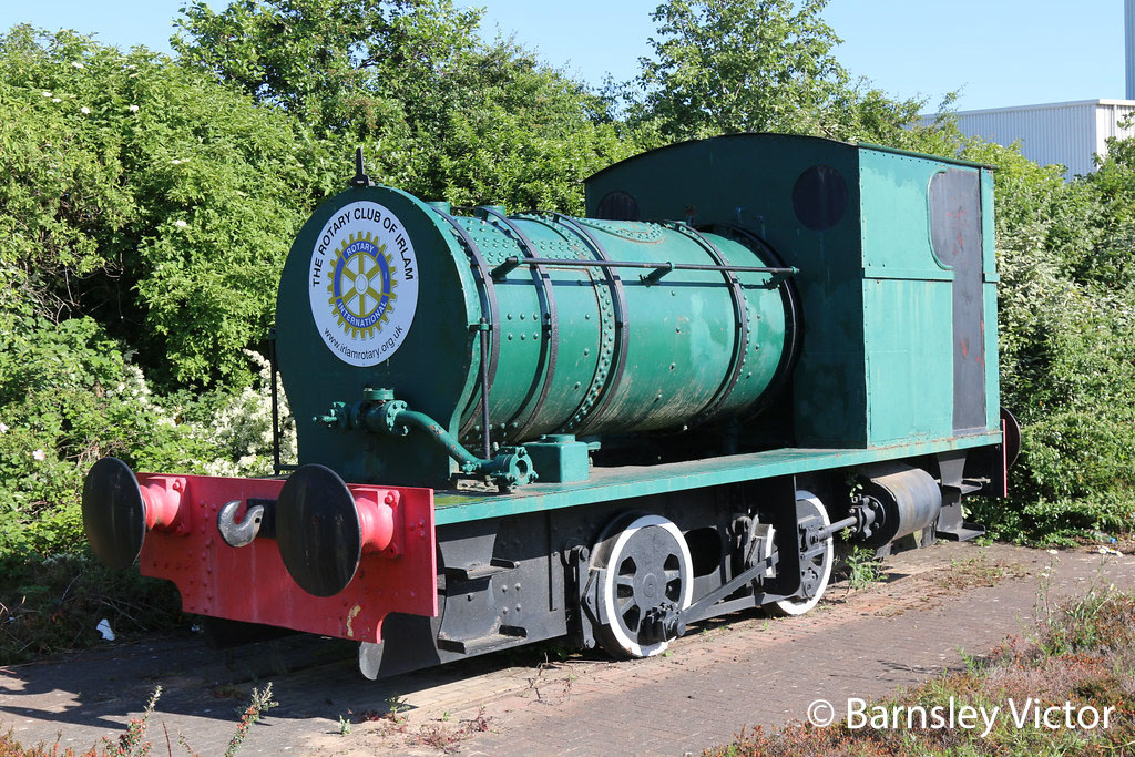 This image has an empty alt attribute; its file name is peckett-2155-at-irlam-may-2020.jpg